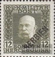 Austria.-Fieldpost Serbia 28 Fine Used / Cancelled 1916 Karl I. - 1850-1918 Imperium