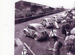 Equipe Renault 4CV Au 24 Heures Du Mans 1952  -  15 X 10 Cms PHOTO - Le Mans