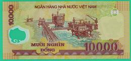 10000 Dong  - Viet Nam - 1988 - LA 07 168209 - Polymère  -  Neuf - - Vietnam