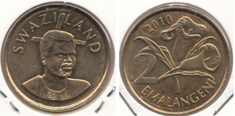 Swaziland 2 Emalangeni 2010 KM#46 - Used - Swaziland