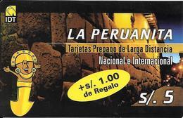 Prepaid: IDT La Peruanita - Peru