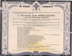 EERW.ZUSTER MARIA-ASSUNTA /ANGELE FLORIZOONE ° VEURNE 1913 + LEBBEKE 1942 - Avvisi Di Necrologio
