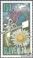 Slovenia 312 (complete.issue.) Unmounted Mint / Never Hinged 2000 150 Years Meteorological Aufzeichn - Slovenia