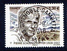 France 2018.Pierre Schoendoerffer.Cachet Rond Gomme D'origine - France