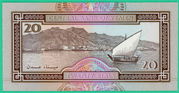 20 Rials - Yemen -  -  Neuf - - Yémen