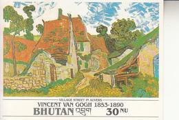 1991 Bhutan Van Gogh Art Painting Complete Set Of 12 Souvenir Sheet   MNH - Bhutan