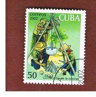 CUBA -  MI  416 -  2002   EXPLORERS: COOKING      - USED - Cuba