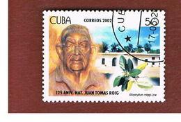 CUBA -  MI  4432 -  2002   ANNIVERSARY OF J.T. ROIG      - USED - Cuba