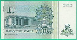 10 Nouveaux Zaires - Zaïre - 1993 - N° E2274792H -  Neuf - - Zaïre