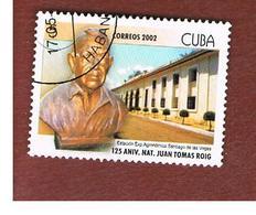 CUBA -  MI  BL171 -  2002   ANNIVERSARY OF J.T. ROIG (FROM BF)     - USED - Cuba