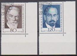 Lichtenstein 1969 MiNr.512 - 513 O Gest. Pioniere Der Philatelie ( 1954 )günstige Versandkosten - Liechtenstein