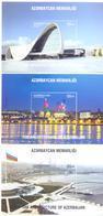 2017. Azerbaijan, The Modern Architecture Of Azerbaijan, 3 S/s,  Mint/** - Azerbaïdjan