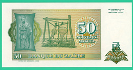 50 Nouveaux Makuta - Zaïre - 1993 - N° B1951722C -  Neuf - - Zaïre