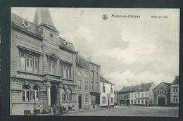MERBES-LE- CHATEAU. Hôtel De Ville. 1911. 2 Scans. - Merbes-le-Château