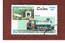 CUBA -  MI  4475 -  2002   LOCOMOTIVES: VULCAN    - USED - Cuba