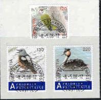 Zwitserland, Mi 2057-59 Jaar 2008, Reeks, Vogels,  Gestempeld, Zie Scan - Gebraucht
