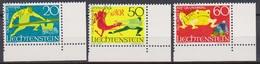 Lichtenstein 1969 MiNr.518 - 520 O Gest. Sagen ( 1959 )günstige Versandkosten - Liechtenstein