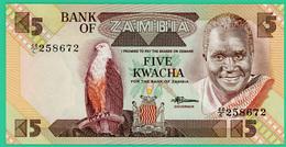 5 Kwacha - Zambie - N° 44/C  258672-  Neuf - - Zambie