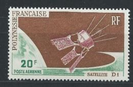 Polynésie YT PA 19 XX / MNH Espace Space - Nuovi