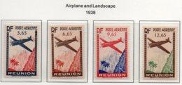 Réunion YT PA 2-5 XX / MNH - Réunion (1852-1975)