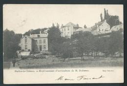 MERBES-LE- CHATEAU. Etablissement D'Horticulture De M. Dufossez.  1904.  2 Scans. - Merbes-le-Château