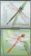 Finland - Aland 359-360 (complete.issue.) Unmounted Mint / Never Hinged 2012 Dragonflies - Aland