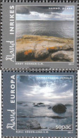 Finland - Aland 350-351 (complete.issue.) Unmounted Mint / Never Hinged 2011 Landscapes - Aland