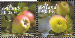 Finland - Aland 346-347 (complete.issue.) Unmounted Mint / Never Hinged 2011 åland Apple - Aland