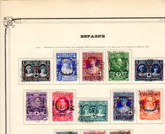 1927  Espagne, 25 Ans Règne Du Roi, Croix-Rouge Surchargé, 300 / 212, Cote 180 €, - 1889-1931 Royaume: Alphonse XIII