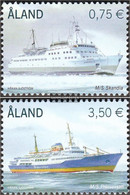 Finland - Aland 325-326 (complete Issue) Unmounted Mint / Never Hinged 2010 Fährschiffe - Aland
