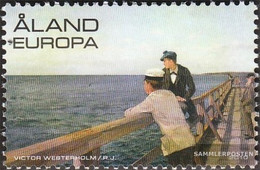 Finland - Aland 321 (complete Issue) Unmounted Mint / Never Hinged 2010 Victor Westerholm - Aland