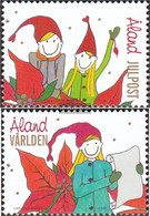 Finland - Aland 319-320 (complete.issue.) Unmounted Mint / Never Hinged 2009 Christmas - Aland
