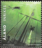 Finland - Aland 311 (complete Issue) Unmounted Mint / Never Hinged 2009 Tauchsport - Aland