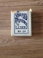 Very Old Card Game Patience De Luxe No. 37 - Toy Memorabilia