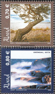 Finland - Aland 256-257 (complete.issue.) Unmounted Mint / Never Hinged 2005 åland Landscapes - Aland