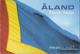 Finland - Aland 234MH (complete Issue) Unmounted Mint / Never Hinged 2004 50 Years åland Flag - Aland