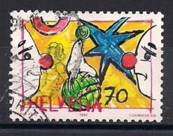 YT N° 1407 - Oblitéré - Le Cirque - Suiza