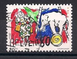 YT N° 1408 - Oblitéré - Le Cirque - Suiza