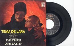 EP 45tours : BOF De Doctor Zhivago (1966)  (Edition Espagnole) - Soundtracks, Film Music