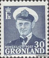 Dänemark - Grönland 33 MNH 1950 Re Frederik IX. - Nuovi