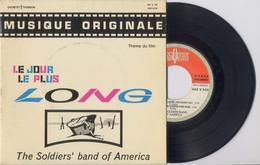 EP 45tours : BOF : Le Jour Le Plus Long  (Pressage : Fr - 1964) - Musique De Films
