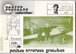 NEUDIN,,,,,CARTES POSTALES Et COLLECTION,,,,07 / 08 / 1983 ,,,,,Ch . LESUEUR    108 PAGES,,,,TBE - Books