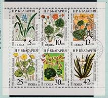 Bulgarien Bulgaria Bloc N° 3628-3633 - Fleurs Blumen Flower - Bulgarie - Flora