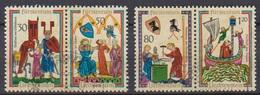 Lichtenstein 1970 MiNr.527 - 530 Aus Block 8 O Gest. Minnesänger ( 2375 )günstige Versandkosten - Liechtenstein