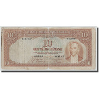 Billet, Turquie, 10 Lira, L.1930, KM:128, B+ - Turquie