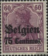 Dt. Landespost In Belgien 6b Usato 1914 Germania - Deutschland