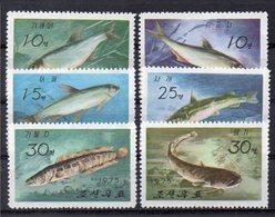 COREE DU NORD    Timbres  Neufs ** De 1975    ( Ref 5671 ) Animaux - Poissons - Corée Du Nord