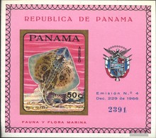 Panama Block91b (complete.issue.) Unmounted Mint / Never Hinged 1968 Fish - Panama