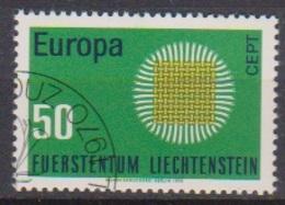 Lichtenstein 1970 MiNr.525 O Gest. Europa ( 2360 )günstige Versandkosten - Liechtenstein