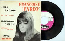 EP 45tours : FRANCOISE HARDY : Tous Les Garçons Et Les Filles (1966) - Vinyles